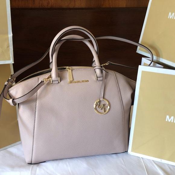 2f7f78891089 Michael Kors Bags | 368 Handbag Purse Riley Mk Pink Bag | Poshmark